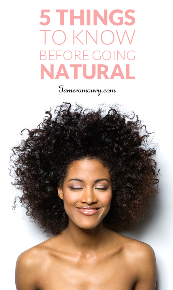 Process Of Going Natural Without Cutting Hair