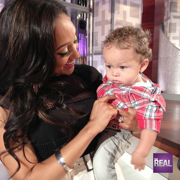 Tamera Brings Aden on The Real