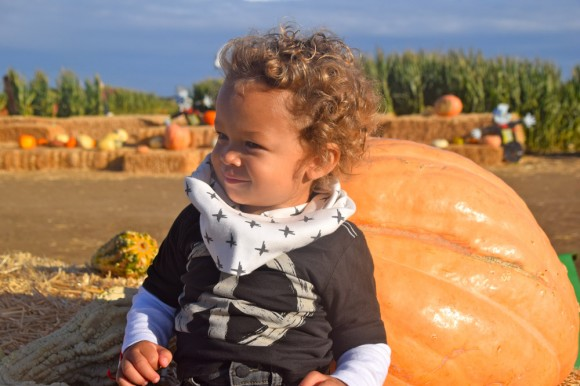 Aden's Visit to the Pumpkin Patch