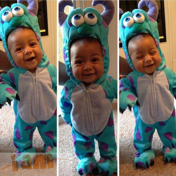 sully halloween costume - Monsters Inc Baby Halloween Costumes