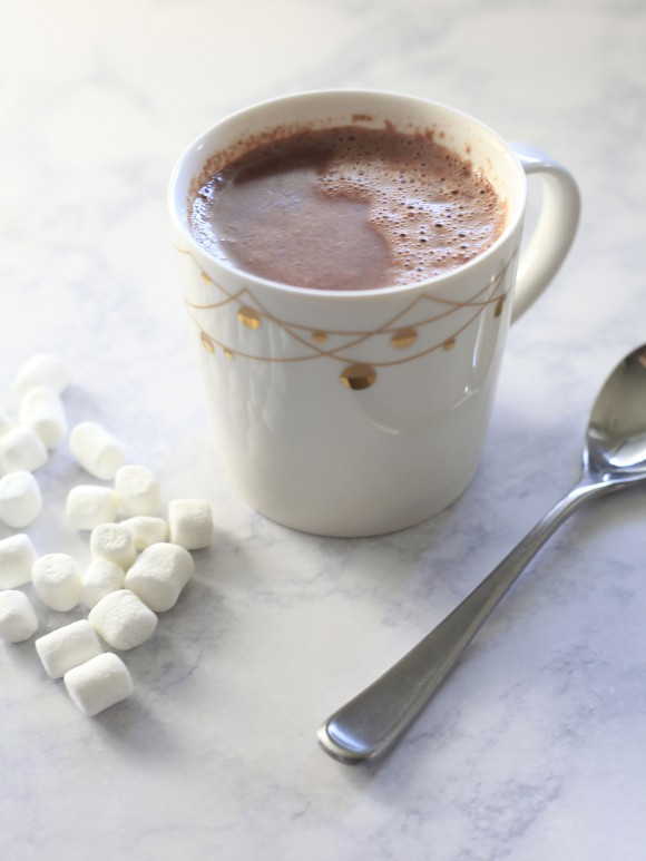 Super Simple Hot Cocoa | TameraMowry.com