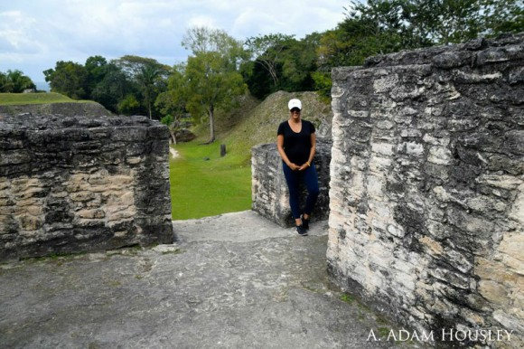 Tamera Mowry in Belize