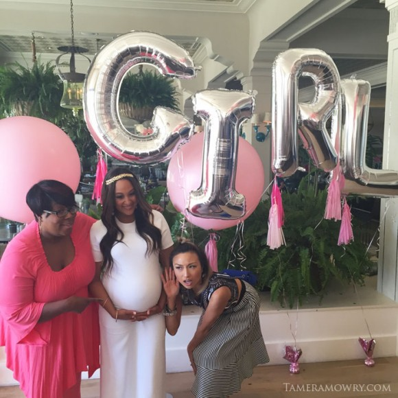 Tamera Mowry Baby Shower