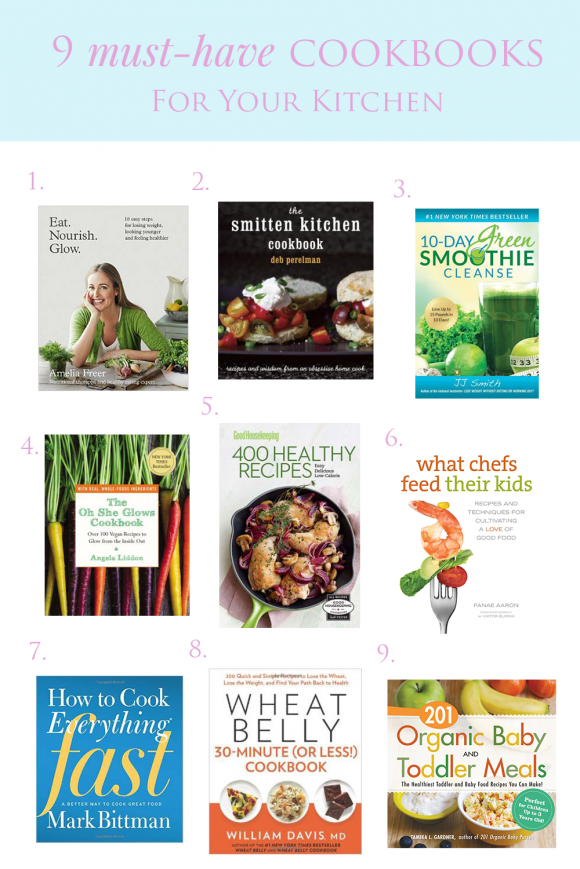 9 Essential Cookbooks for Your Collection