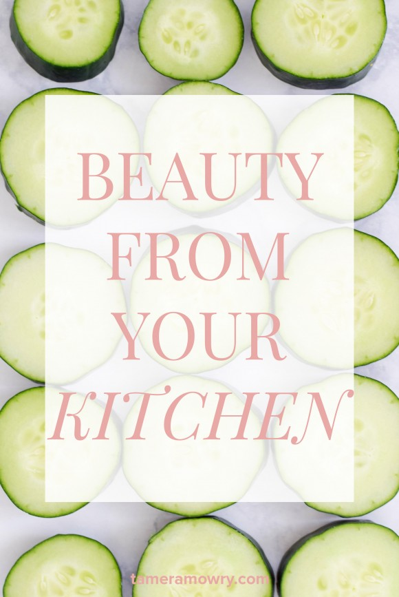 Natural Beauty Products from the Kitchen | TameraMowry.com