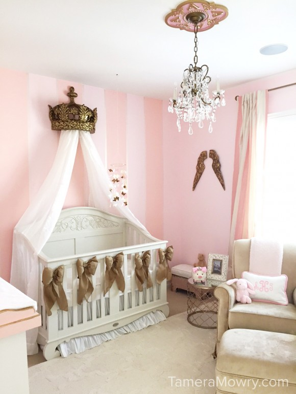 Powerful In Pink Ariah S Nursery Reveal Tamera Mowry