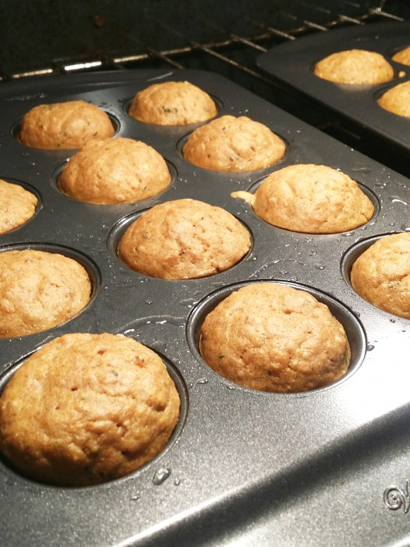 Gluten-free Sweet Potato Banana Muffins