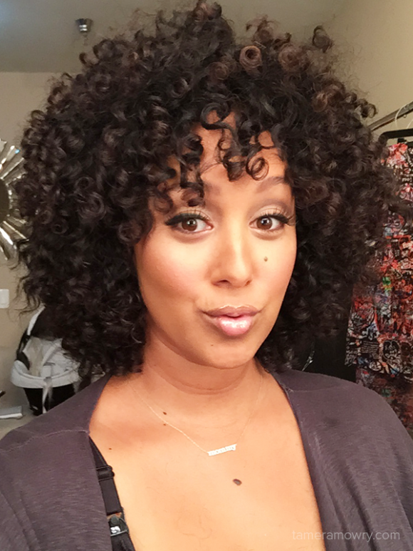 Tamera Mowry Fall beauty & natural hair