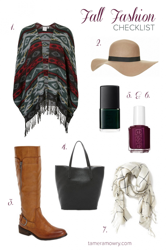 Fall fashion bucket list | Tamera Mowry