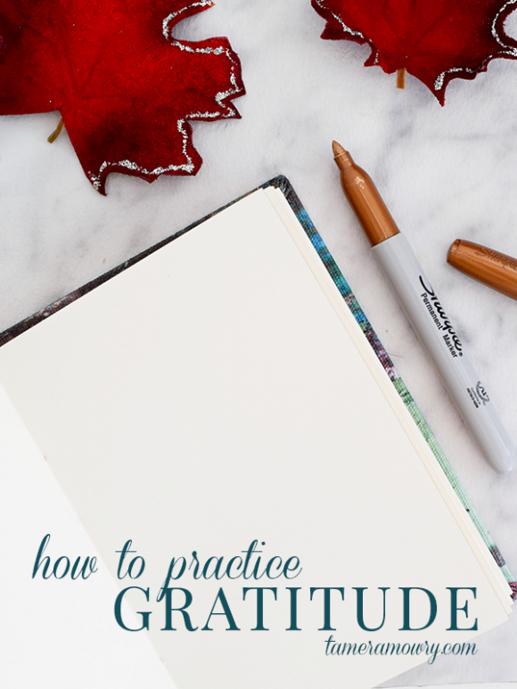 How to Practice Gratitude via Tamera Mowry