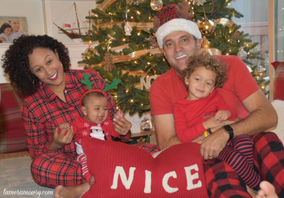 Our Christmas Portrait on TameraMowry.com