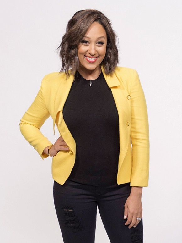 Tamera Mowry hair on The Real