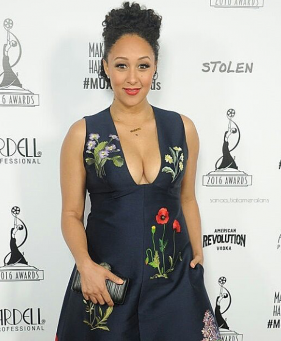 Tamera Mowry at the Makeup Artists & Hair Stylist Awards 2016
