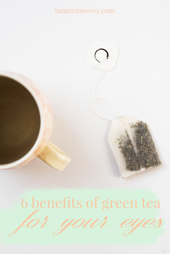Benefits of Green Tea for Tired Eyes | Tamera Mowry