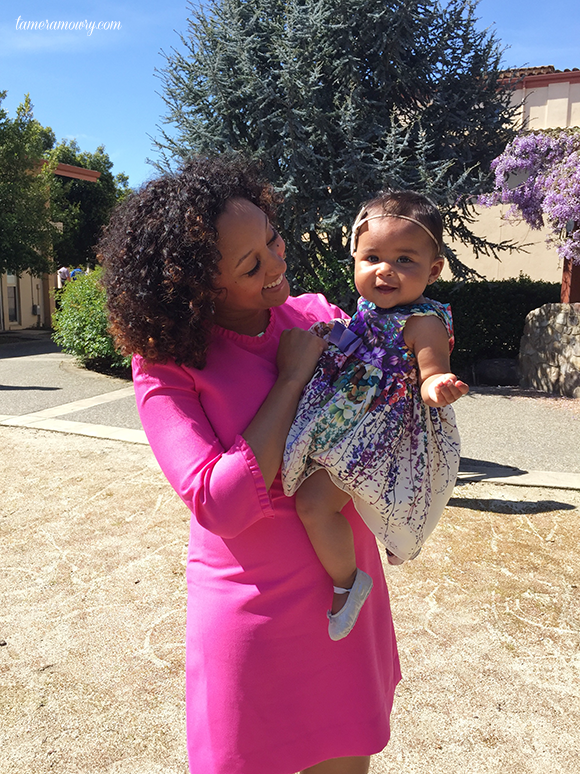 Tamera Mowry Easter Family Photos 2016