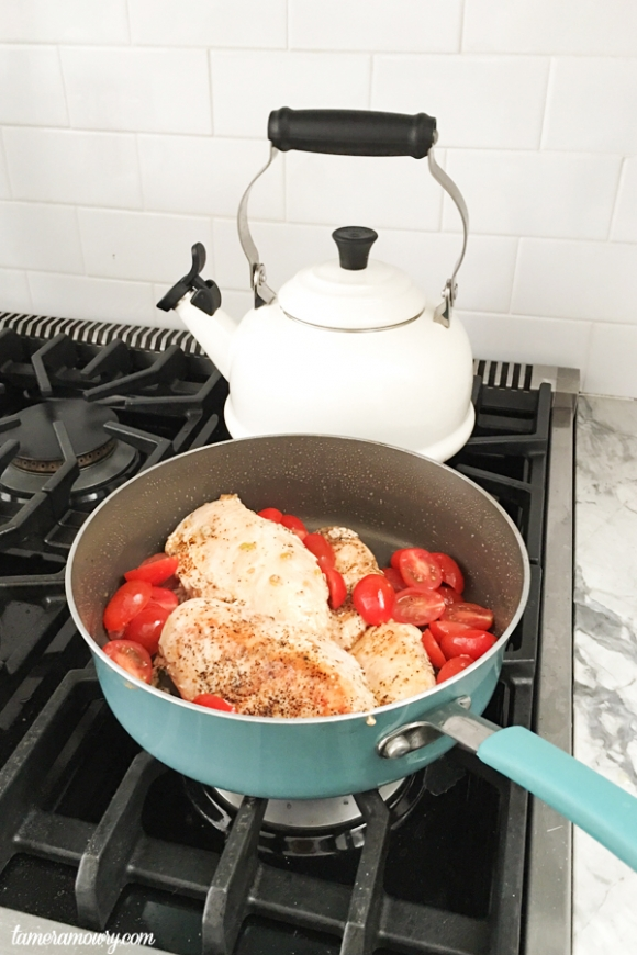 One Pot Chicken & Tomatoes - Easy Chicken Recipes - Tamera Mowry