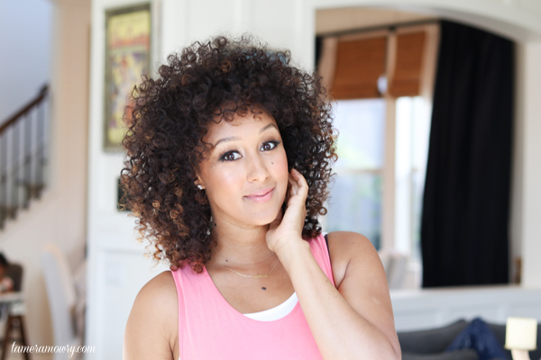 My Natural Pink Beauty Look - Tamera Mowry