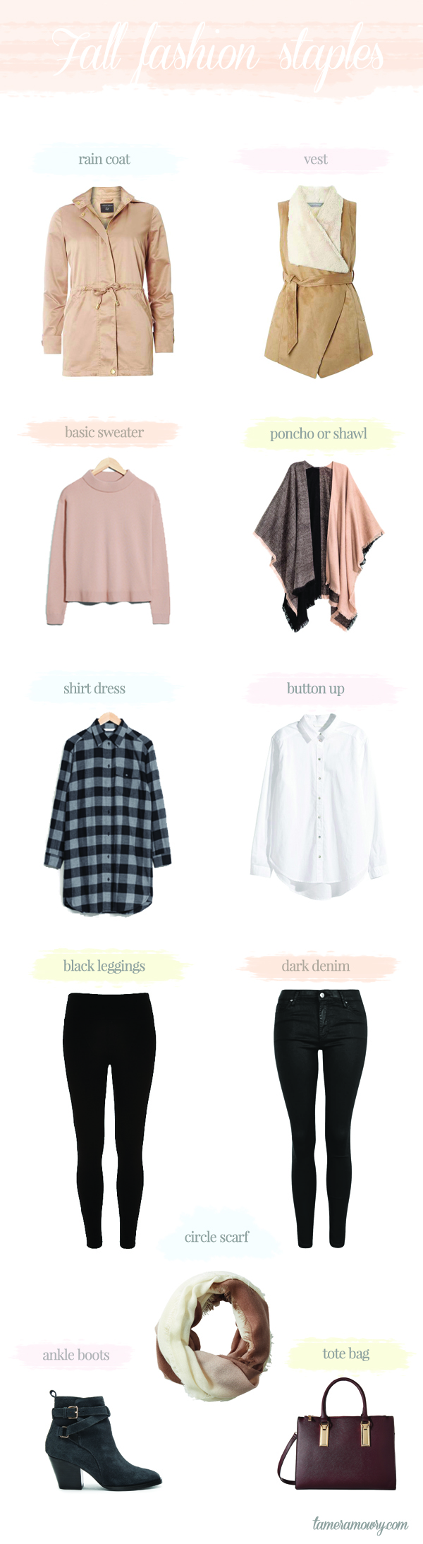 Fall Fashion Staples - Tamera Mowry fall must haves