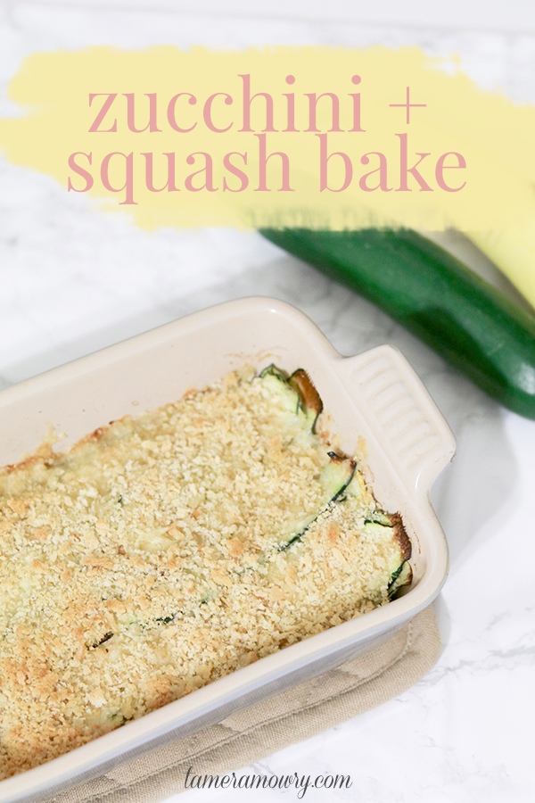 Zucchini and Squash Bake - Easy Zucchini Recipes - Tamera Mowry