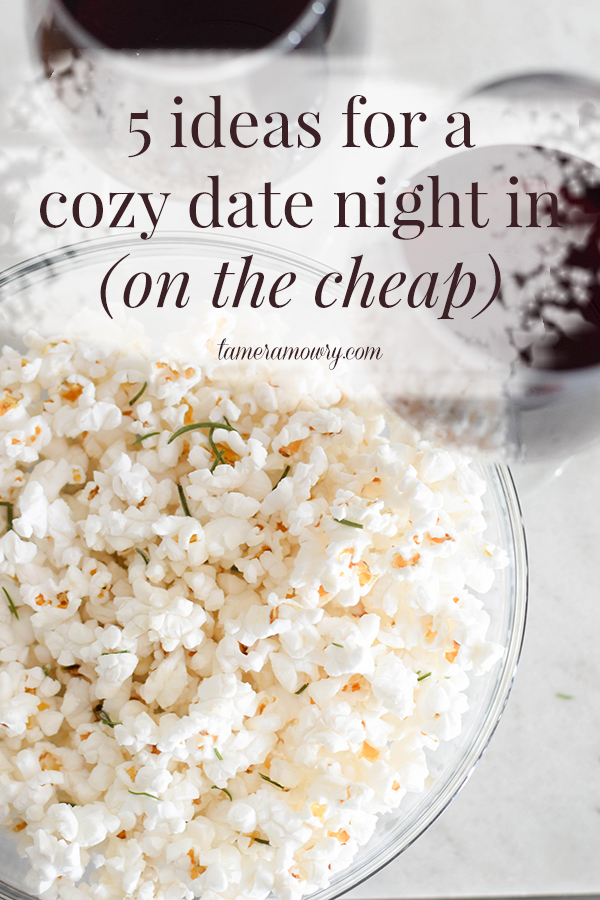 5 Ideas for a Cozy Date Night In - Tamera Mowry