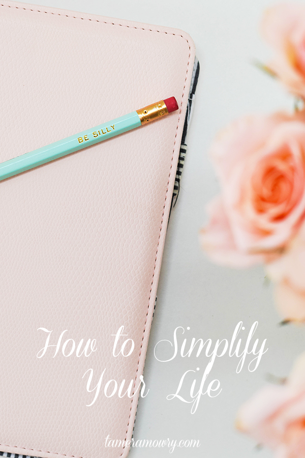 How to Simplify Your Life - Tamera Mowry
