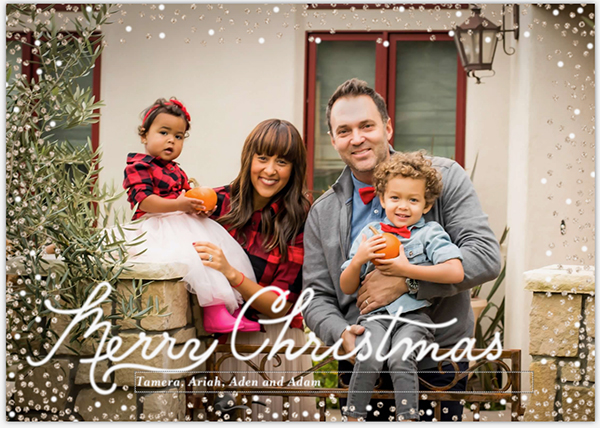 Merry Christmas from the Housleys! - Tamera Mowry Family