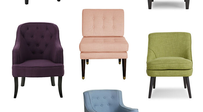 Colorful Accent Chairs Under 300 Tamera Mowry