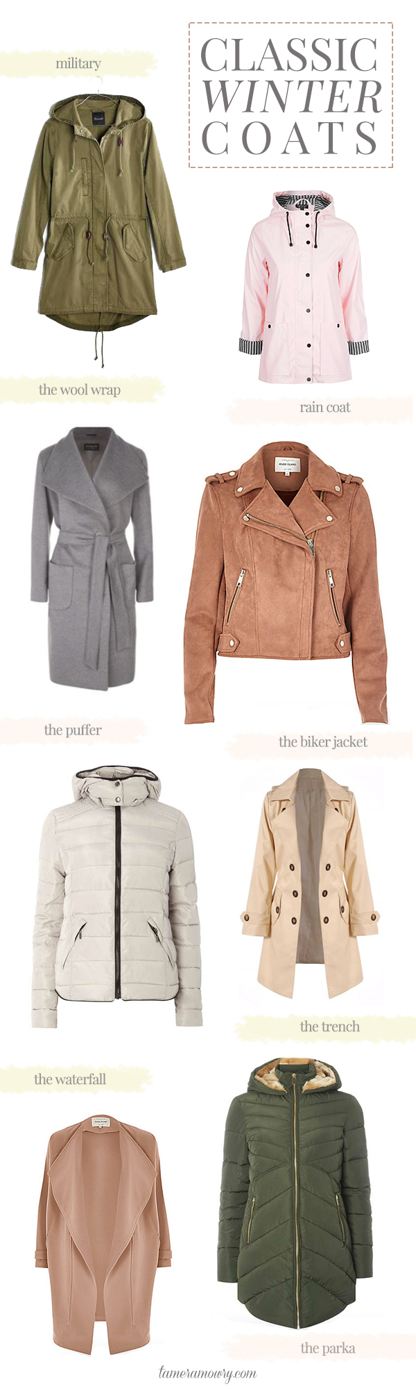 8 Classic Winter Coats That Never Go Out Of Style - Tamera Mowry