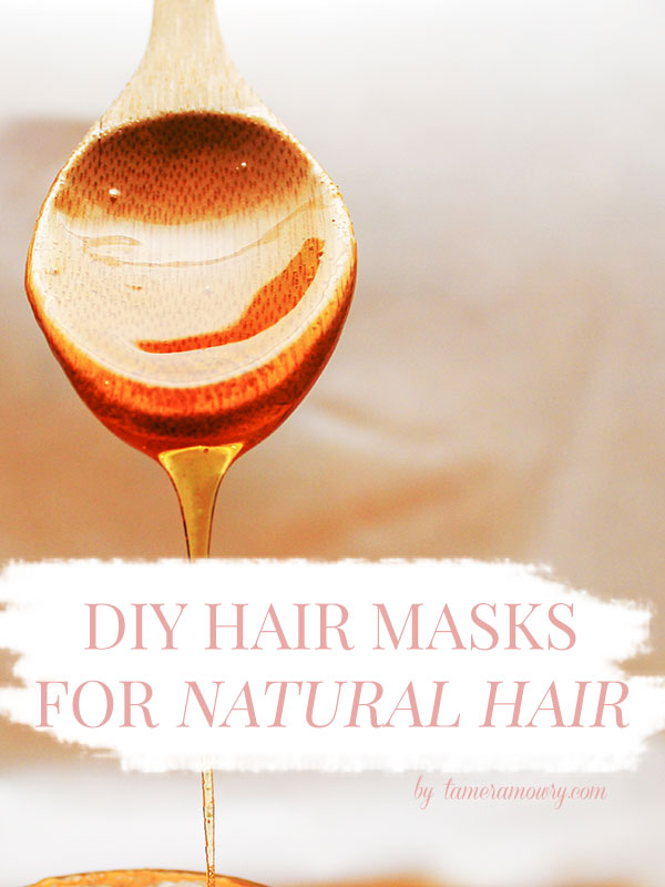 3 DIY hair masks for natural hair - Tamera Mowry