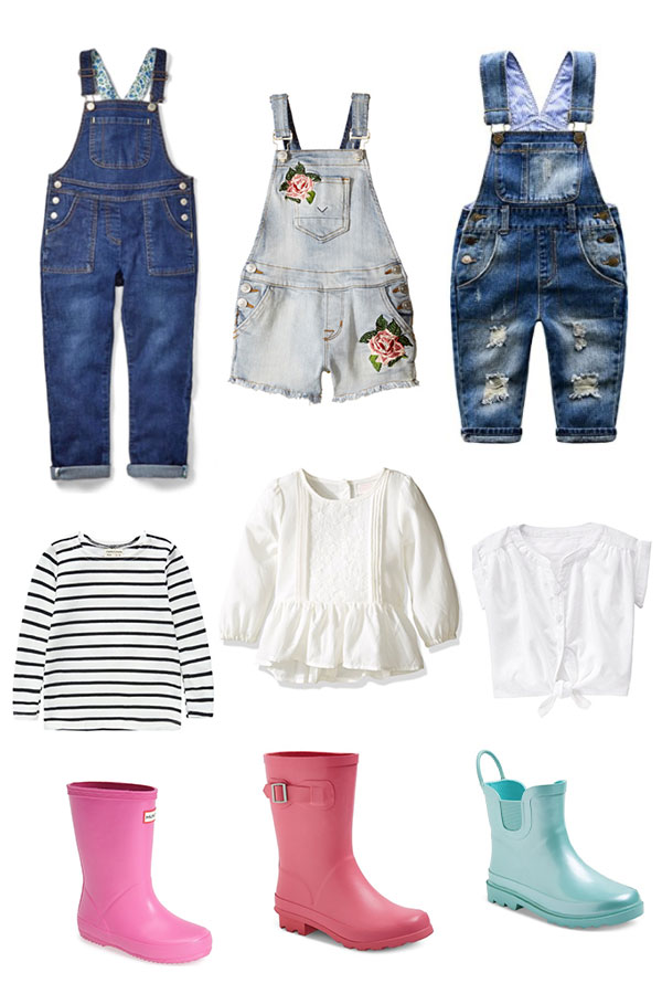 Ariah's Style - Toddler Overalls and Rainboots - Tamera Mowry