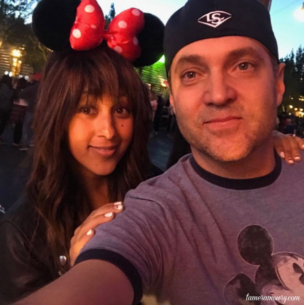 Tamera and Adam at Disneyland