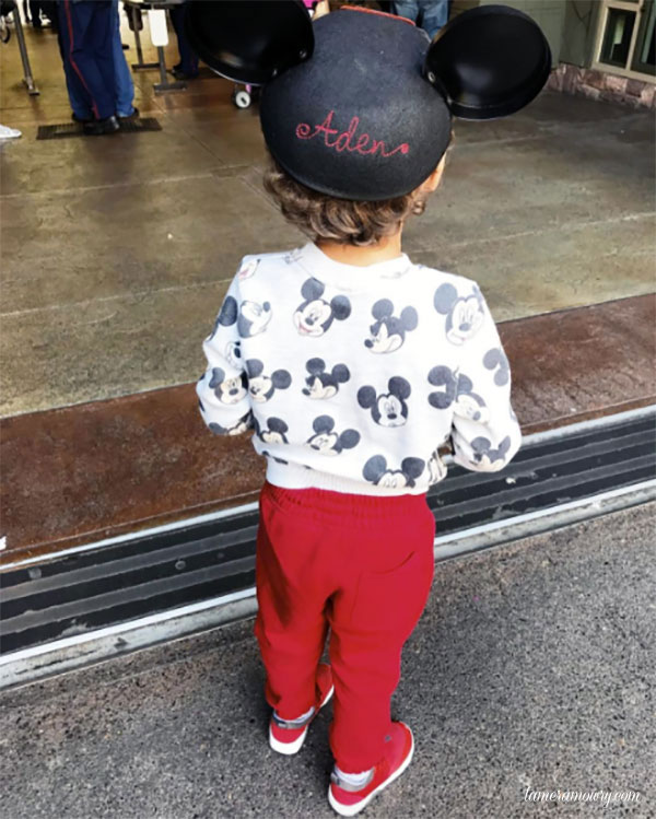 Aden at Disneyland - Tamera Mowry