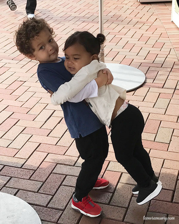 Aden and Ariah at Disneyland - Tamera Mowry