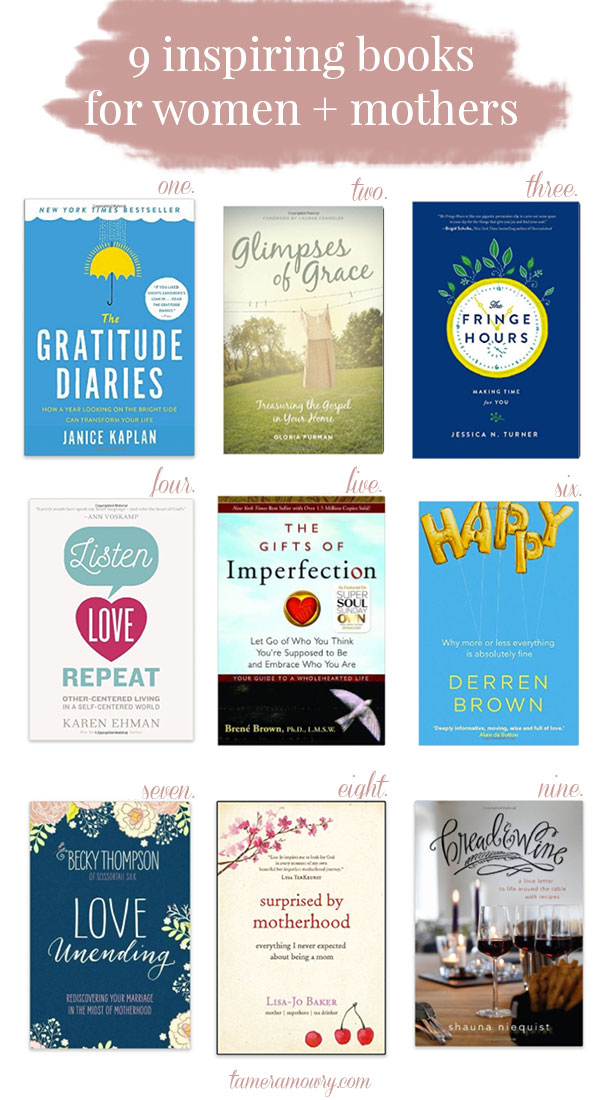 9 Inspiring Books for Women - Tamera Mowry