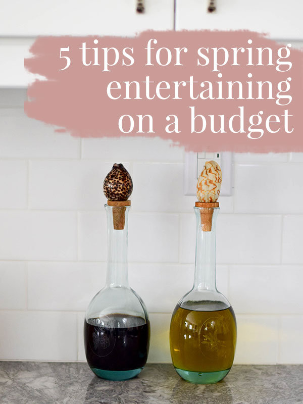 5 Tips for Spring Entertaining on a Budget -  Tamera Mowry