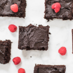 Chocolate Frosted Zucchini Brownies