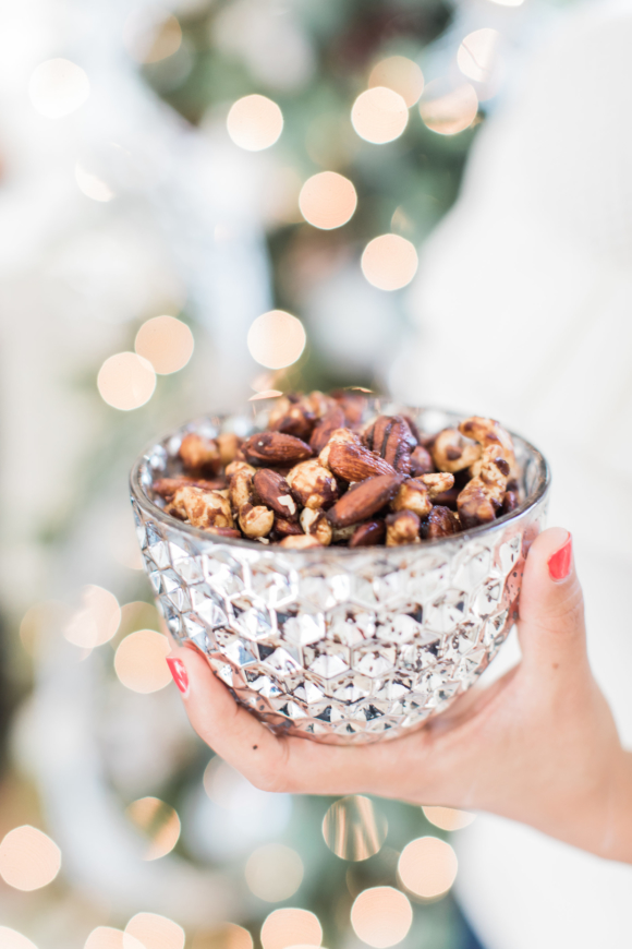 healthy candied nuts