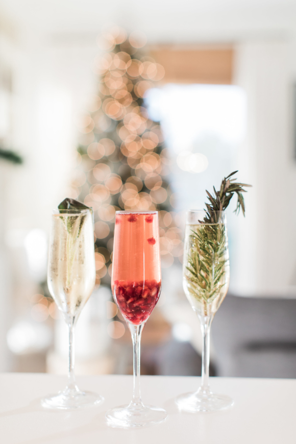 infused champagne