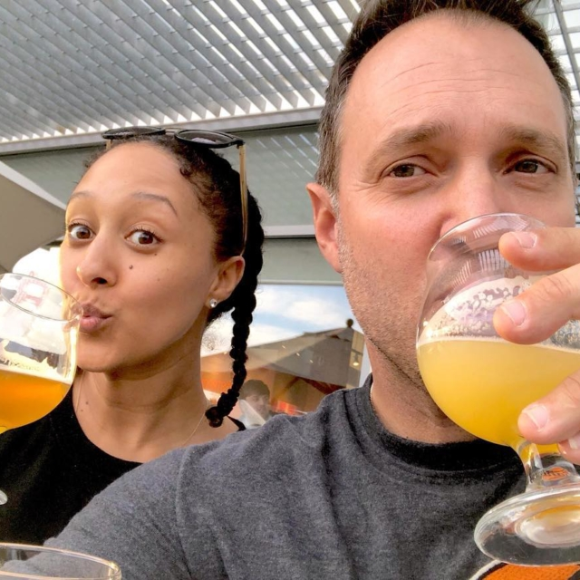 Beer tasting with bae